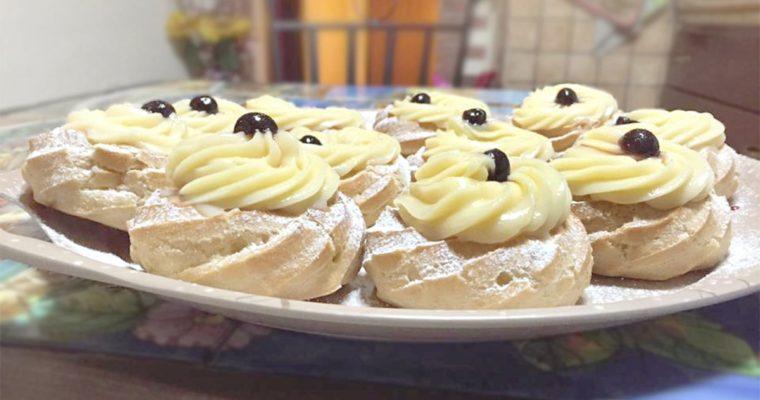 Italian Cream Puffs (Bignè)