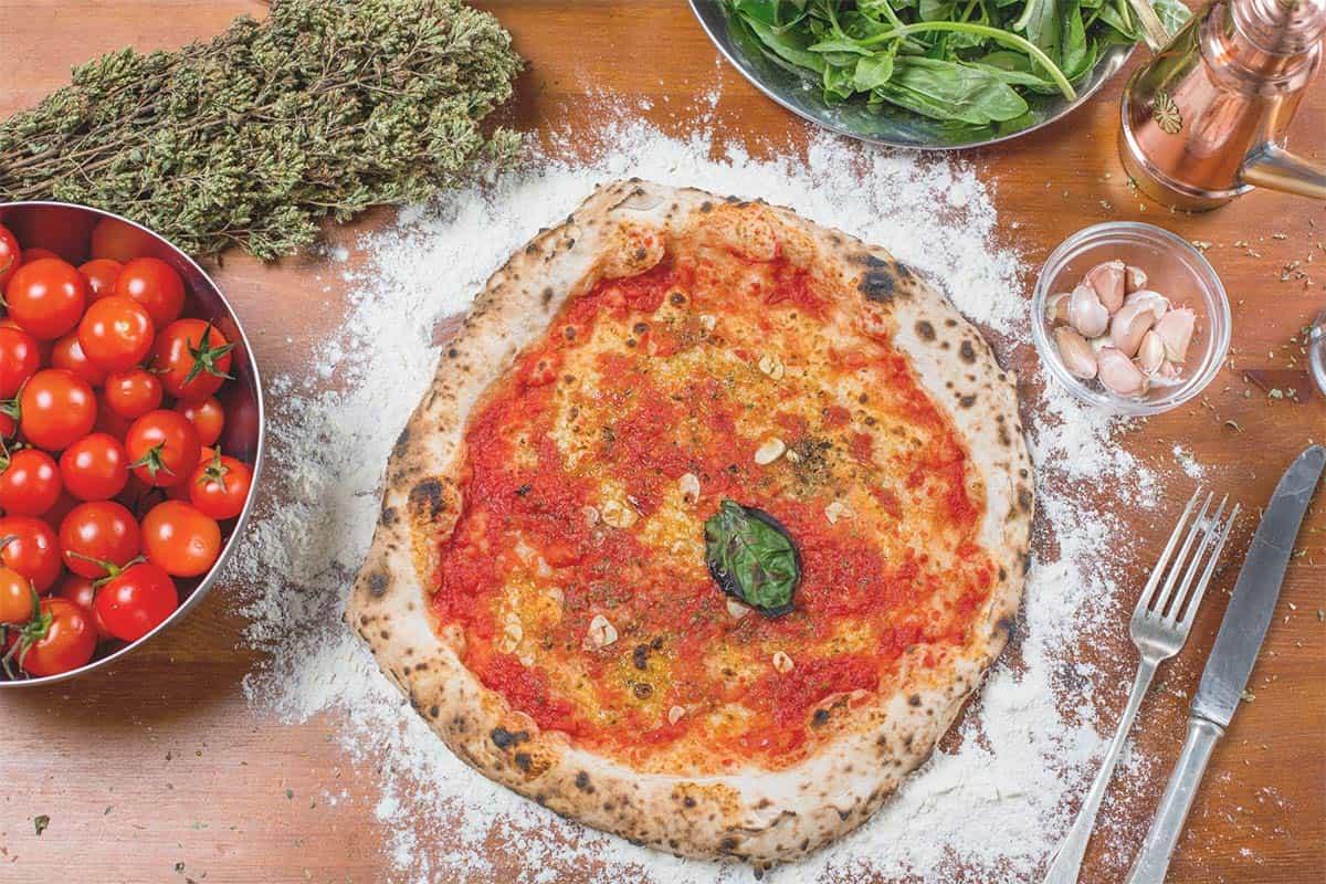 The real Pizza alla Marinara